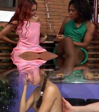 Ebony shemale fuck girl