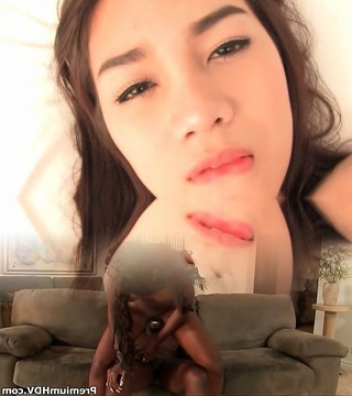 Pretty Face T-girl Por Barebacking
