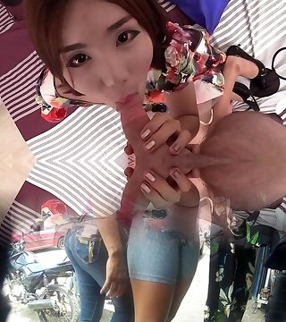18 yo China Doll Girlfriend Bareback