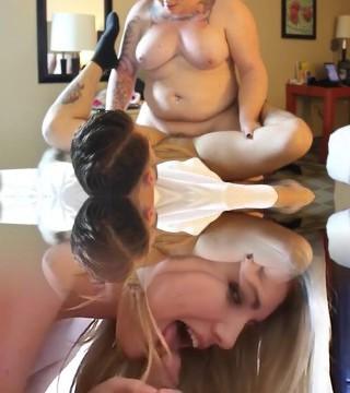 BBW Shemale fucks her FTM Boyfriend
