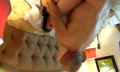 Bear ravages his wife hard