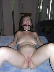 Housewifes are bound to the bed