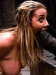 This week I present to you a very special Wiredpussy Production, the first ever Kink.com Live Audience Shoot! Have you ever wished that you could be in the room while Princess Donna ties up, dominates and strap-on fucks a model? Have you ever wished that you could run up and spit in a models face yourself? Feel the inside of her ass? Get her to lick your boot clean, or play with your cock? Well, for 30 lucky people those dreams became a reality. Delilah Strong is shocked, fucked, and humiliated in front of their very eyes, and if they want to join in, all they have to do is ask!!! This is the only place on the web you can see Delilah Strong tied up and humiliated in front of a live audience! If you haven't joined Wiredpussy yet, do it now!