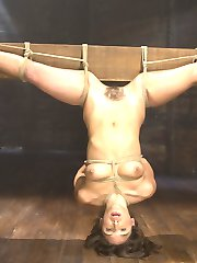 Abella worships The Pope and her every desire is to submit to him in bondage. She always wants to take it up another notch in every shoot, and this one is no exception. She is subjected to devastating bondage with a brutal inverted suspension. The torment is what makes most tap out, but Abella craves it and can't imagine life without it. The orgasms are just as powerful as every other part of the day as she screams her way through those too.