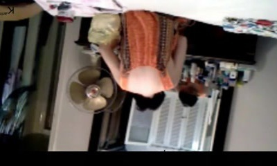 Desi wifey voyeurly caught