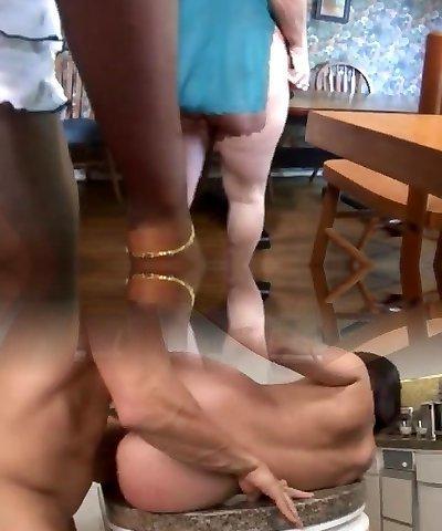 Black Female Fucks White Mature