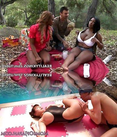 Incredible porn industry star in Best Big Baps, BBW porn movie