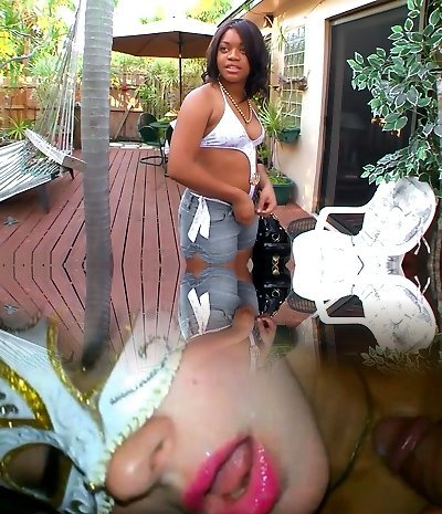 Killer superstars Sunset Jewel and Vengeance Pimpin in incredible mature, black and ebony adult clip