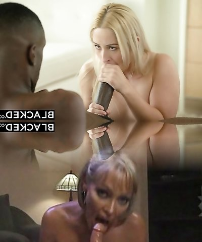 BLACKED Beauty Goldie Takes Her First Big Black Prick