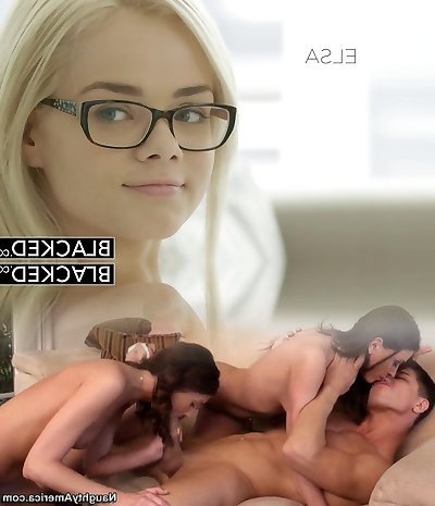 BLACKED Elsa Jean Takes Her Very First Big Black Cock