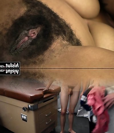 Horny dark-hued doll plays with her cunt