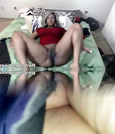 Black and milky rods fucking black holes