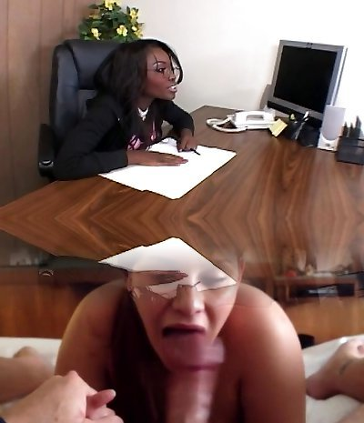 Ultra-kinky boss wants it in the office