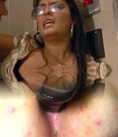 Jasmine Black Secretary Huge Floppy Tits Assfucked Stockings
