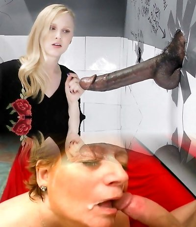 Lily Rader Deep Throats And Fucks Yam-sized Black Dick - Gloryhole