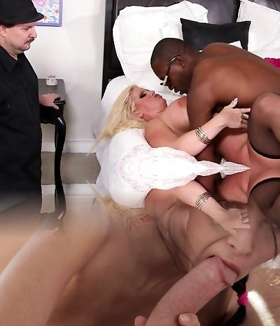 Alura Jenson And A Ebony Guy