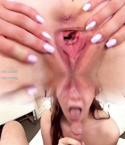 Kristy Black and Debora gaping pussies