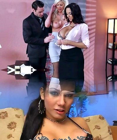 Brazzers - Sexy three-way in the office