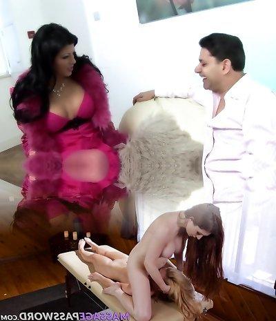 Incredible pornographic star Amanda Black in epic fetish, stockings adult scene