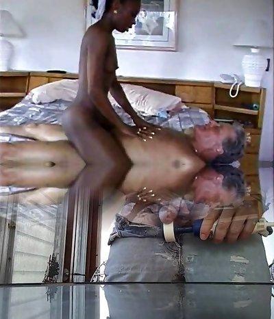 Ebony sex flick