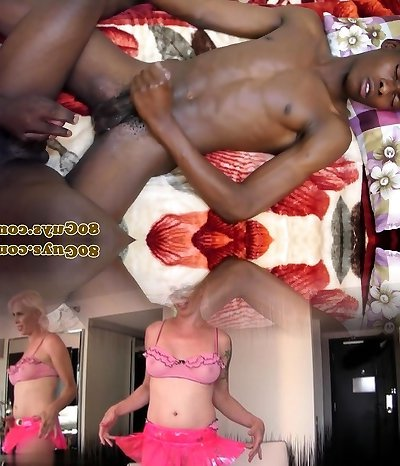 African twinks jerking and wanking