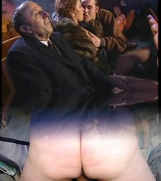 Big Orgy in Vid Theater