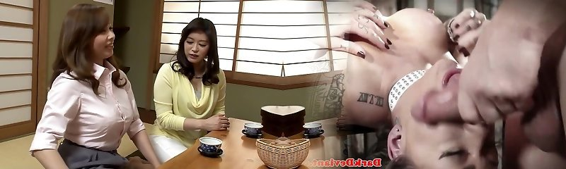 Hottest Japanese girl in Outstanding Lesbian JAV pinch