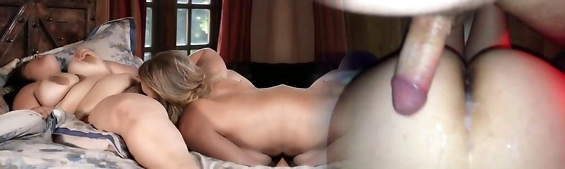 Plus-size fuck with skinny blonde mature.