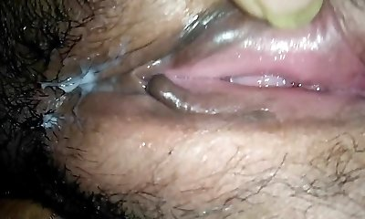Pussy Flash of a South Indian Milf