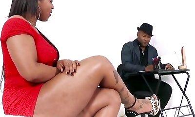 Big black brazilian ass smashed up.