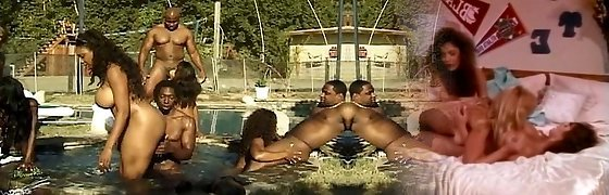 Anal and vaginal soiree at the pool