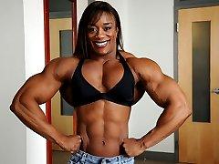 Muscle Black Women