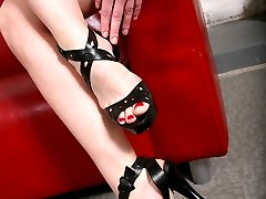 Black Meat White Feet - Interacial Footjobs