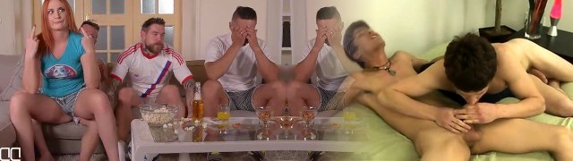HandsonHardcore-Three Best friends double penetration horny jealous girlfriend till she farts