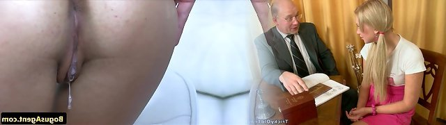 Euro casting honey creampied by faux agent