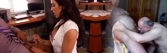 Uber-sexy Secretary enjoying a break from work ctoan