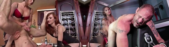 WOW Strap-on Fantasy Becomes REALITY!