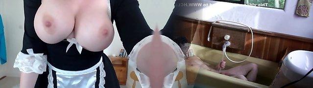 Hot Maid slut big melons