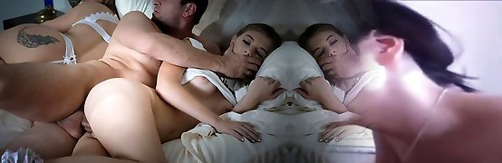 FamilyStrokes - Cuddling and Boinking Scared Daughter Whi