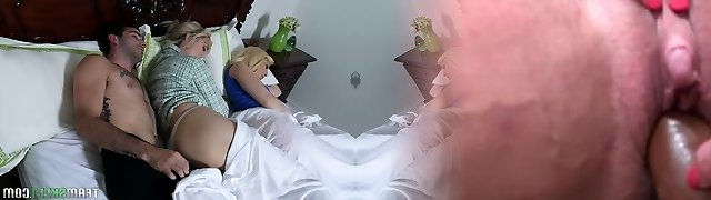 Lecherous blonde Darcie Belle invite GF for sloppy and crazy intercourse with her beau