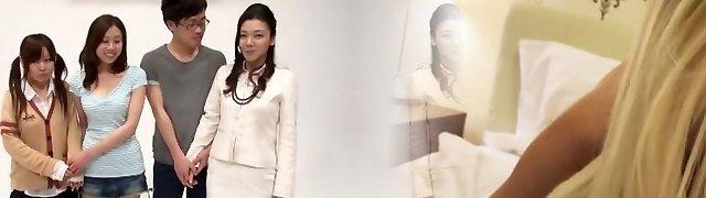 Cool Asian slut in Crazy Fingering, Cunnilingus JAV movie