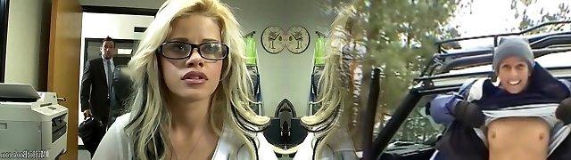 If the sumptuous, glasses wearing, platinum-blonde secretary Jessa Rhodes, got a job in