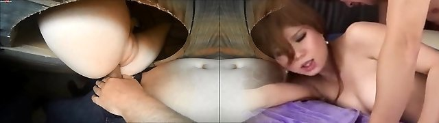 Huge-titted glory hole amateur sloppy blowjob and receive facial