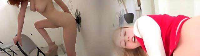 gloryhole creampie