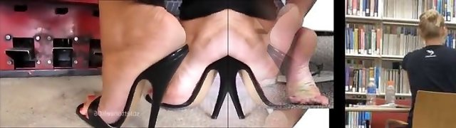 Sexy High Heels At Work