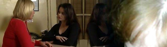 Exotic Lesbian, College hookup clip