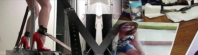 Incredible amateur Brunette, Poking Machines xxx video