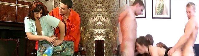 Elder Maid Shlong Cleaning
