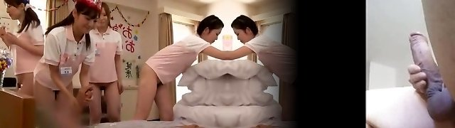 Incredible Chinese girl Rei Mizuna in Crazy Nurse JAV movie