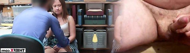 Brooke Bliss taken in the back office